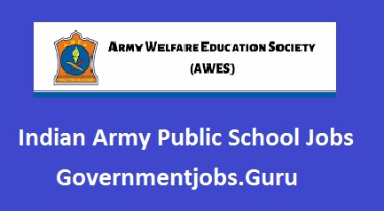 Army School Jobs in India
