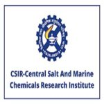 CSMCRI Recruitment 2021 Apply for Central Salt and Marine Chemicals Research Institute Jobs Vacancies