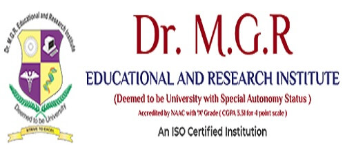 Dr. M.G.R. Educational and Research Institute Hall Ticket