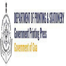 Printing and Stationery Department Goa Recruitment 2021